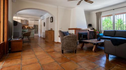 Wohnzimmer Casa La Vela