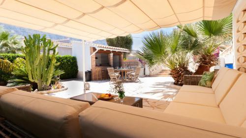 Loungebereich Ferienhaus Costa Blanca Spanien